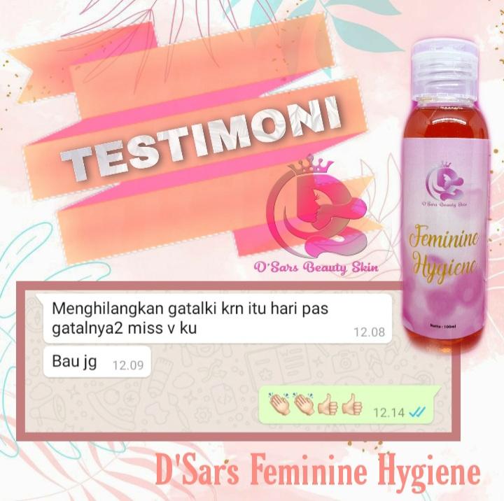 Testimoni produk D'Sars Feminine Hygiene 5